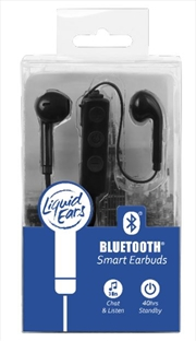 Liquid Ears - Bluetooth Smart Earbud Black