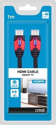 Ultra High Speed HDMI Cable with Ethernet - 1M