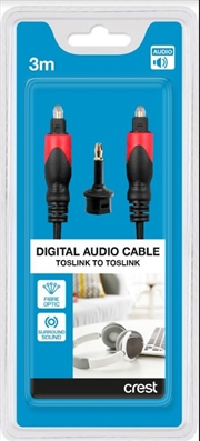 Digital Optical Audio Cable Toslink - 3M