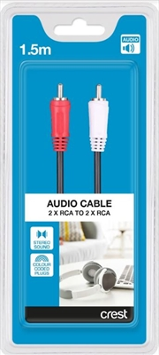 Stereo Audio Cable - 1.5M
