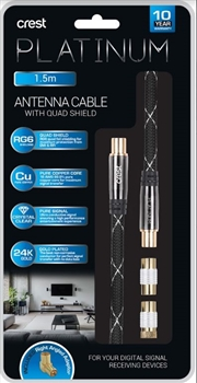 Antenna Cable With Quad Shield - 1.5M | Accessories