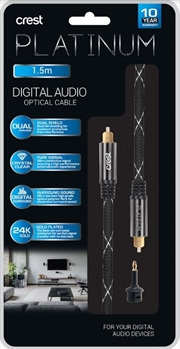 Digital Audio Optical Cable - 1.5M | Accessories