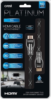 HDMI Cable With Ethernet - 3M | Accessories