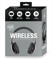 Liquid Ears - Classic Wireless Headphones - Black