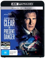 Clear And Present Danger | Blu-ray + UHD