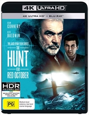 Hunt For Red October | Blu-ray + UHD, The