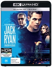 Jack Ryan - Shadow Recruit | Blu-ray + UHD