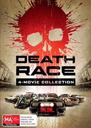 Death Race / Death Race 2 / Death Race 3 - Inferno / Death Race 4 - Beyond Anarchy | DVD