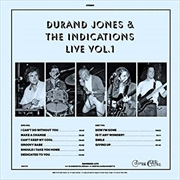 Durand Jones And The Indication Live - Vol.1