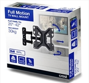 Crest Full Motion TV Wall Mount - Small To Medium