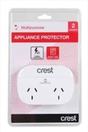 Crest Appliance Protector 2 Sockets