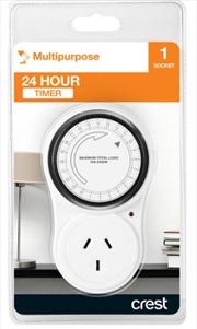Crest 24 Hour Manual Timer