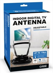 Crest Indoor Antenna Passive - Black | Accessories
