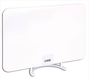 Crest Indoor Antenna Concealable - White