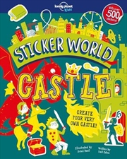 Lonely Planet Kids - Sticker World Castle | Paperback Book