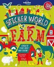 Lonely Planet Kids - Sticker World Farm | Paperback Book