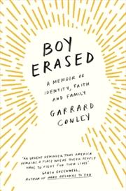 Boy Erased: A Memoir Of Identity, Faith And Family | Paperback Book