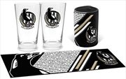 AFL Bar Essential Gift Pack Collingwood Magpies