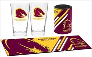 NRL Bar Essentials Gift Pack Brisbane Broncos