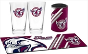 NRL Bar Essentials Gift Pack Manly Warringah Sea Eagles