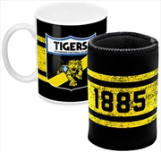 AFL Coffee Mug and Can Cooler Richmond Tigers
