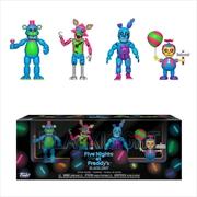 "Five Nights at Freddy's - Black Light #2 2"" Figure 4-pack | Merchandise"