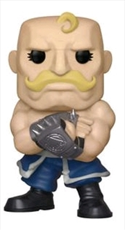 Fullmetal Alchemist - Alex Armstrong Glow US Exclusive Pop! Vinyl [RS]