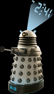 Doctor Who - Dalek Projection Alarm Clock | Accessories