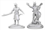 Dungeons & Dragons - Nolzur's Marvelous Unpainted Minis: Tiefling Male Warlock | Games