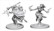 Dungeons & Dragons - Nolzur's Marvelous Unpainted Minis: Tiefling Female Warlock | Games