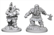 Dungeons & Dragons - Nolzur's Marvelous Unpainted Minis: Human Male Druid