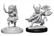 Dungeons & Dragons - Nolzur's Marvelous Unpainted Minis: Halfling Female Fighter