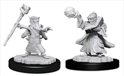 Dungeons & Dragons - Nolzur's Marvelous Unpainted Minis: Gnome Male Wizard | Games