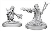 Dungeons & Dragons - Nolzur's Marvelous Unpainted Minis: Gnome Female Wizard | Games