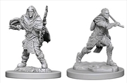 Dungeons & Dragons - Nolzur's Marvelous Unpainted Minis: Elf Male Fighter | Games