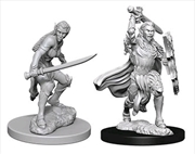 Dungeons & Dragons - Nolzur's Marvelous Unpainted Minis: Elf Female Fighter | Games