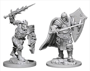 Dungeons & Dragons - Nolzur's Marvelous Unpainted Minis: Death Knight & Helmed Horror