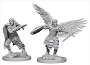 Dungeons & Dragons - Nolzur's Marvelous Unpainted Minis: Aasimar Male Fighter