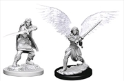 Dungeons & Dragons - Nolzur's Marvelous Unpainted Minis: Aasimar Female Fighter