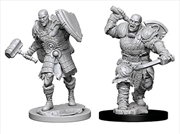 Dungeons & Dragons - Nolzur's Marvelous Unpainted Minis: Male Goliath Fighter | Games