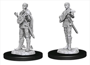 Dungeons & Dragons - Nolzur's Marvelous Unpainted Minis: Female Half-Elf Bard