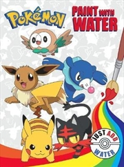 Pokemon: Paint with Water | Paperback Book