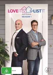 Love It Or List It Australia - Season 1 | DVD