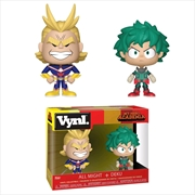 My Hero Academia - All Might & Deku Vynl | Merchandise