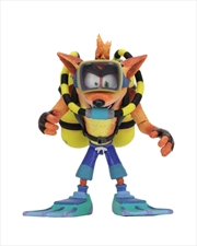 "Crash Scuba 7"" Action Figure 