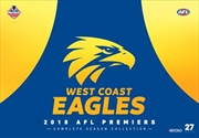 AFL - Premiers 2018 - West Coast Eagles | Complete Season Collection
