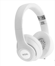 Moki Katana Bluetooth Headphones - White