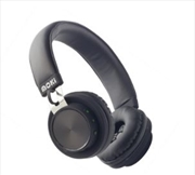 Moki EXO Prime Bluetooth Headphones - Black