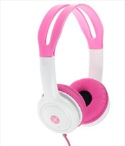 Volume Limited Kids Pink Headphones
