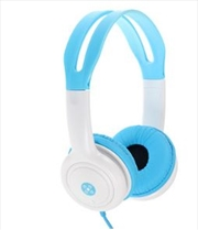 Volume Limited Kids Blue Headphones